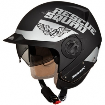 Casco Derby Rescue Negro Mate/gris Xs