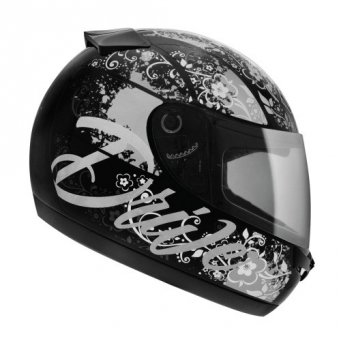 Casco Drive Hg Seduction Negro/cz T58