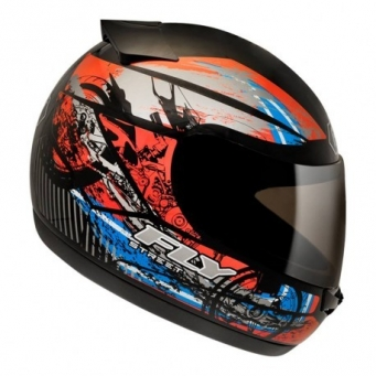 Casco Drive Hg Stripe Negro Mate/rojo T58
