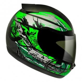 Casco Drive Hg Stripe Negro Mate/verde T60