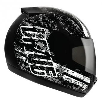 Casco Drive Hg Stripe Negro/blanco T58