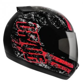 Casco Drive Hg Stripe Negro/rojo T58
