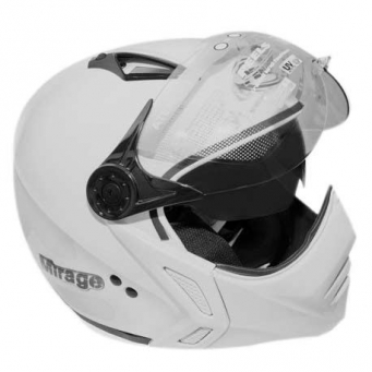 Casco Mirage Blanco Policia Dv T60