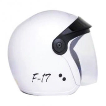 Casco F-17 Blanco T58